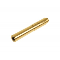 4.3 Threaded Outer  Barrel (.45 marking) - Gold