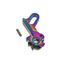 Match Grade Stainless Steel Hammer - Rainbow