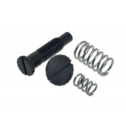 Steel Rear Sight Screw & Spring Set